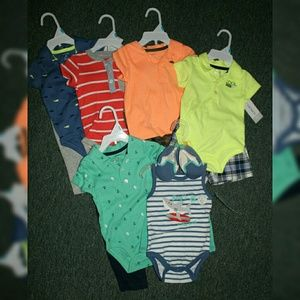 Infant boy's 6 month bundle